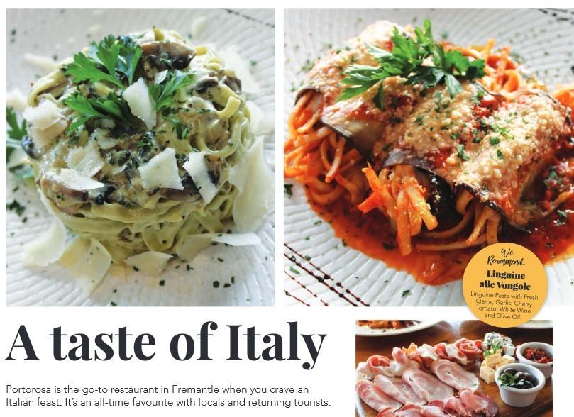 A taste of Italy   Fremantle Herald Article